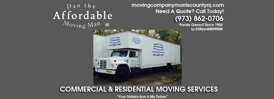 Moving Company Morris County NJ
