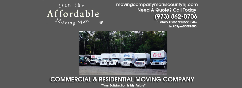 Morris County NJ Moving Company